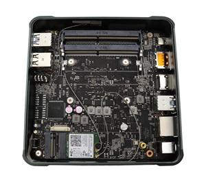 Image 4 - 2019 جديد جهاز كمبيوتر صغير إنتل i5 8265U 2 * DDR4 32GB RAM NVME M.2 SSD جيب كمبيوتر Nuc كمبيوتر مكتبي ويندوز 10 برو نوع c 4K HDMI2.0 DP