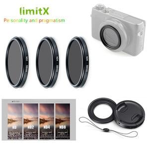 Image 1 - ND2 ND4 ND8 Mật Độ Trung Tính Bộ Lọc ND & Adapter Vòng ống kính giữ cho Máy Panasonic LX10 LX15 TZ200 TZ100 TZ220 ZS200 TX2 ZS100