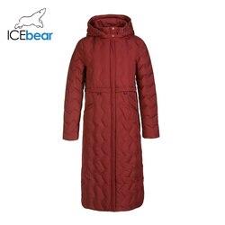 ICEbear 2019 nieuwe winter lange vrouwen down jacket fashion warm dames kleding hooded merk vrouwen kleding GN418305P