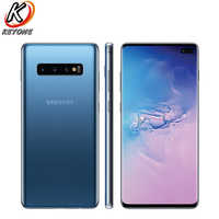 "Samsung Galaxy S10+ G975U T-Mobile Version Mobile Phone 6.4"" 8GB RAM 128GB ROM Snapdragon 855 Triple Rear Camera S10 plus Phone"