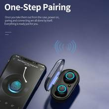 Écouteurs sans fil Y50 TWS Bluetooth 2021, oreillettes de sport, casque avec micro, pour téléphone intelligent Xiaomi Samsung Huawei, nouveau, 5.0