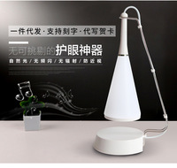 Creative wireless Bluetooth speaker table lamp touch LED music table lamp bedside small night light mini wireless speaker light