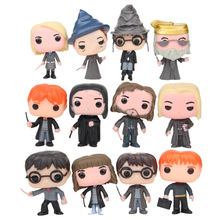 12Pcs Funko POP Harry Dobby Snape 10CM Vinyl Action Figure Collection Model Anime Figure Toys Christmas Gifts 2F05 harry potter theme keychain action figure collectible model vinyl dolls hermione jean granger severus snape