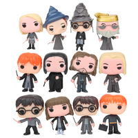 12Pcs Funko POP Harry Dobby Snape 10CM Vinyl Action Figure Collection Model Anime Figure Toys Christmas Gifts 2F05