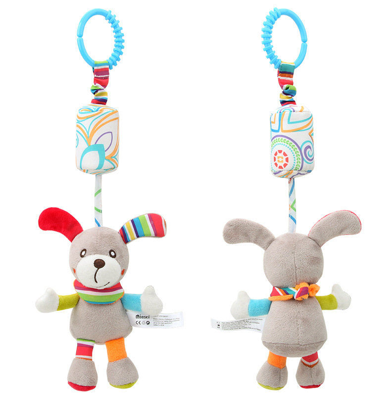 New Style Infant Small Wind Chimes Pendant Baby Lathe Toy Pendant