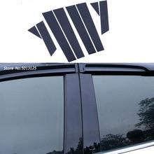 Car Door Window Middle Column Trim Decoration Protection strip Stickers For Volkswagen VW Jetta MK7 2019 2020 accessories