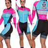 2020 pro equipe triathlon terno feminino camisa de ciclismo skinsuit macacão maillot ciclismo ropa ciclismo manga longa conjunto gel 9