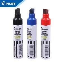 3Pcs Pilot SC 6600 Olie Doos Hoofd Pen Grote Capaciteit Enkele Kop Markering Pen Grof Hoofd Logistiek Industrie Markering Pen hoofd