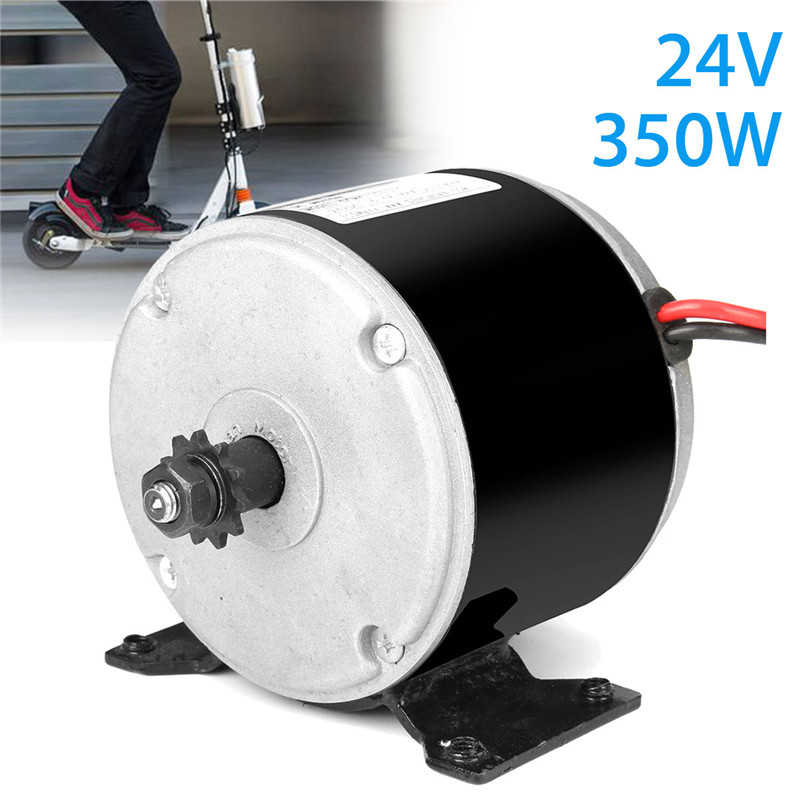 1pcs 24V 350W Black DC Motor Permanent Magnet Generator Micro Motor For DIY