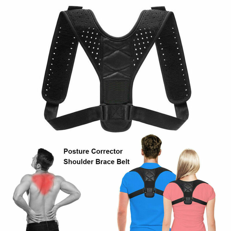 Race Support Belt Adjustable Back Posture Corrector Clavicle Spine Back Shoulder Lumbar Posture Correction