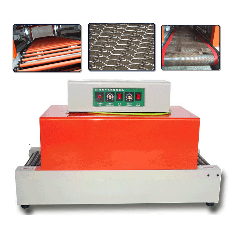 PVC /POF /PP Heat Shrinkable Film Sealer Automatic Blister Machine Retractable Shrink Film Heat Sleeve Plastic Packaging Machine