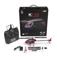 K130 2.4G 6CH Brushless 3D 6G Flybarless System RC Helicopter RTF Super Combo|RC Helicopters| |  -
