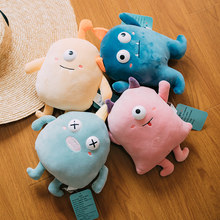 50cm Plush Pillow Comfortable Soft Cartoon monster Sofa Pillow Ugly doll Sleeping Pillow Product For Baby Children Birthday Gift(China)