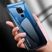 Tempered Glass Case For Huawei Mate 20 Pro Case Gradient Hard Bumper Cover For Huawei Mate 20 20 lite Case Full Protective Coque поло emporio armani emporio armani em598emdpyh2