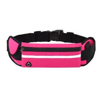 YUYU Waist Bag Belt Bag Running Waist Bag Sports Portable Gym Bag Hold Water Cycling Phone bag Waterproof Women running belt 16