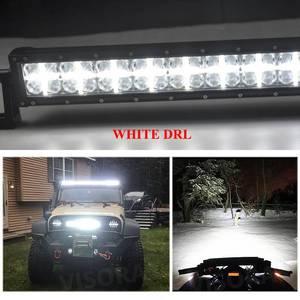 Image 4 - Crek 22 32 42 52 Inch Gebogen Led Verlichting Bar 4X4 4WD Suv Atv Offroad Led Bar positie Licht Voor 4WD 4X4 Offroad Suv Atv Truck