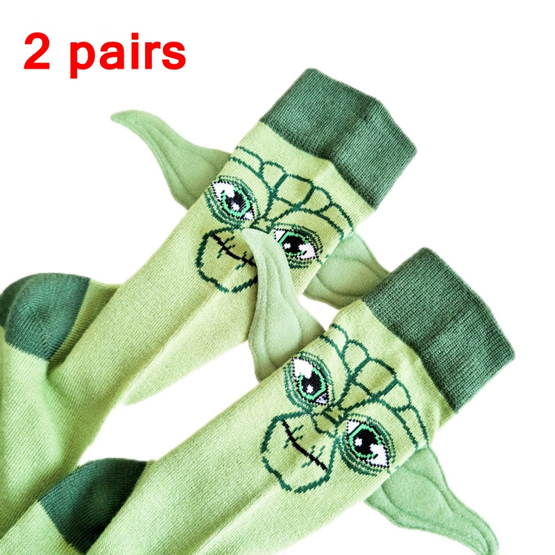 JULY'S SONG Star Wars Respected Jedi Master Socks Street Cosplay Cotton Comics Women Men The Force Awakens Socks Party Novelty F
