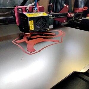 Гибкая пластина + наклейка для 3D-принтера Voron 120x12 0/250x25 0/300x30 0/350x350 мм, пружинный стальной лист