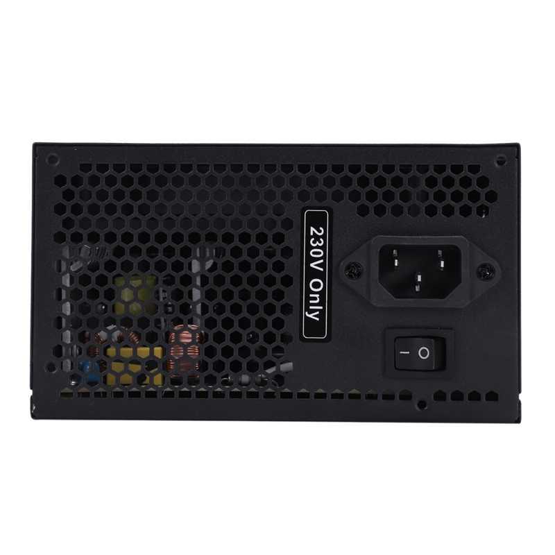 170-260V Max 600W zasilacz Psu Pfc cichy wentylator 24Pin 12V komputer stancjonarny Sata komputer do gier zasilacz do Intel Amd komputer ue Pl