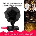 Estrela mestre luz da noite led estrela projetor lâmpada astro céu projeção cosmos led night light lâmpada presente do miúdo decoração para casa
