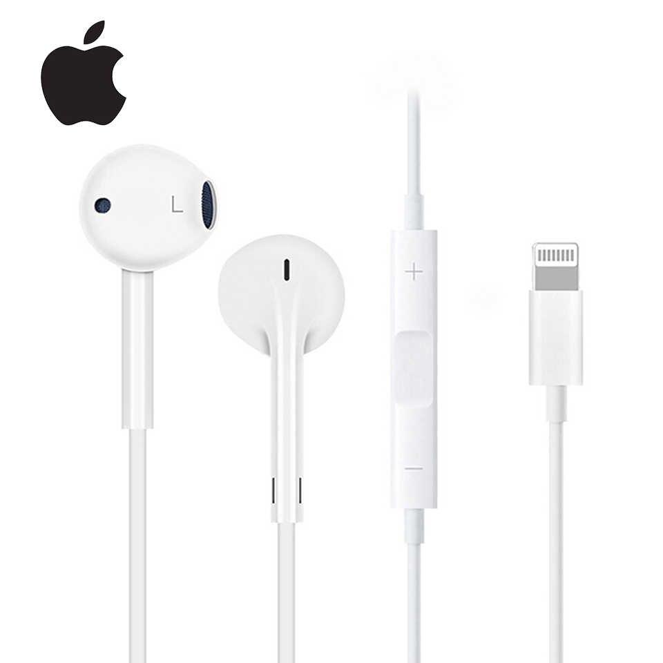 מקורי Apple Earpods 3.5mm Plug & ברקים באוזן אוזניות ספורט אוזניות עמוק עשיר יותר בס אוזניות עבור iPhone/iPad אנדרואיד