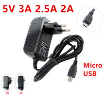 цена на mobile charger AC DC 5V 3A 2A charging for Micro adapter AC DC 220V To 5V dummy for phone Power Adapter Supply adapter