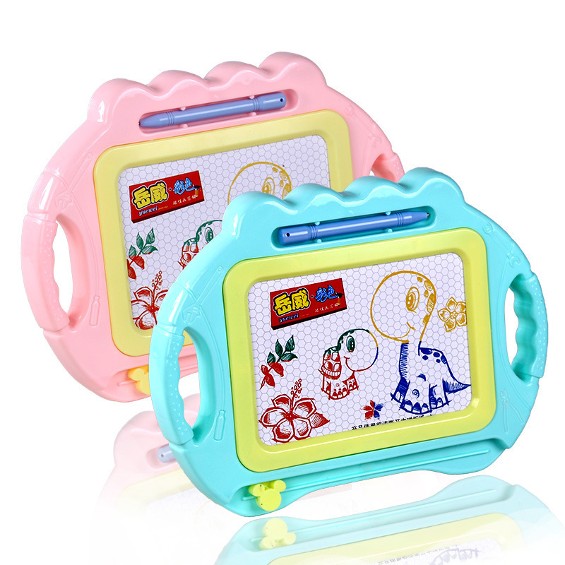 Children'S Educational Drawing Board Magnetic Color Baby Writing Board Doodle Board Household Stylus 1-5-Year-Old