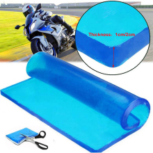 Cushion Saddle-Mat Motorcycle-Seat Comfortable Soft Cool Gel 25x22x1-Cm Elastic-Pad Shock-Absorption