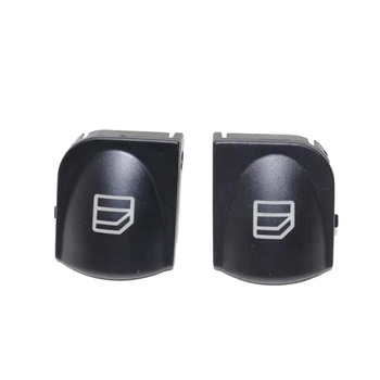 2pcs Window Switch Cover For Mercedes W203 C-CLASS Power Window button Switch Console Cover Caps C320 C230 C240 C280 image
