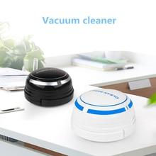 цена на Intelligent Automatic Vacuum Cleaner Dust Collector Desktop Aspirador For Car Notebook Computer Keyboard Desktop Vacuum Cleaner
