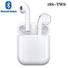 i9s tws Bluetooth 5.0 Earphone Mini Headphone Wireless Earbu