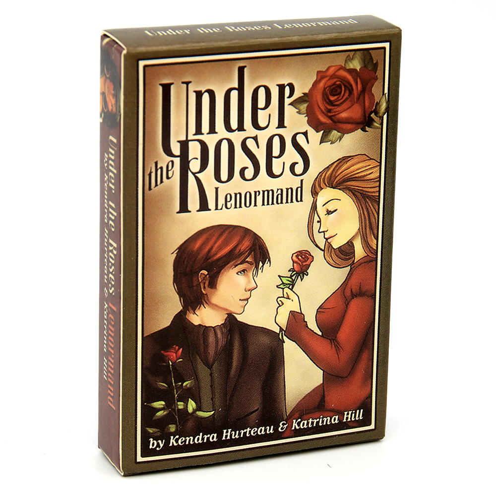 Under The Roses Lenormand 39 Card Deck The Clock Tower Kendra Hurteau LOVE Oracle Tarot Game Toy Method ESOTERIC TELLING US GAME
