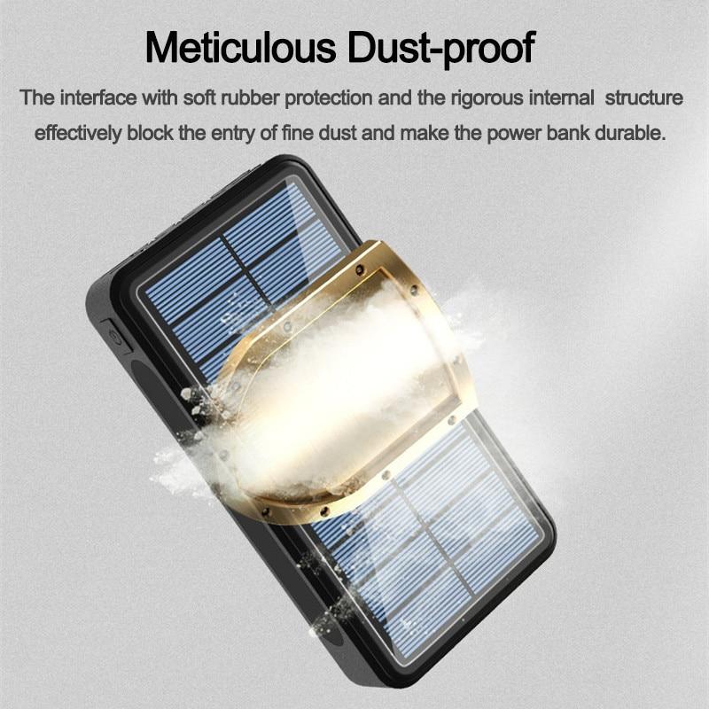 Portable  Solar Power Bank Large  4