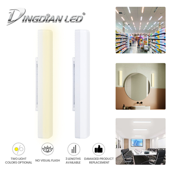 LED Tube Modern Led Mirror Light AC85-265V 13W/18W/24W Mirror Cabinet Modern LED Light Bathroom living room home hotel Wall Lamp l40cm l60cm l70cm l90cm l110cm led wall lamp bathroom mirror light waterproof modern acrylic wall lamp bathroom lights ac85 265v