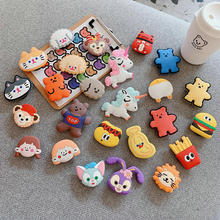 3D silicone cartoon fold finger grip phone holder for phone