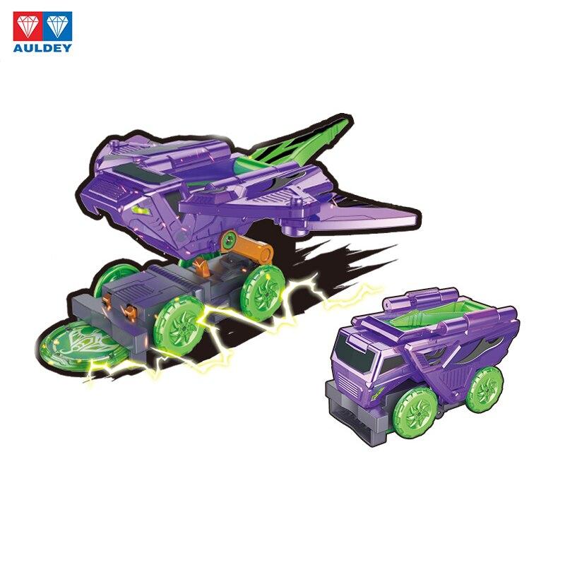 Image 2 - AULDEY Screeches Wild Burst Deformation Car Action Figures DPTI Morphs Capture Wafer 360 Degree Transformation Car ToysAction & Toy Figures   -