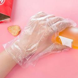Catering food grade gospodarstwo domowe czyszczenie i sanitarne jednorazowe rękawice praktyczne grube rękawiczki kosmetyczne Jednorazowe rękawice kuchenne    -