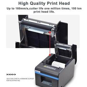 Image 5 - 80mm drukarka pokwitowań termicznych drukarka POS Port USB Bluetooth Ethernet z automatyczną obcinarką obsługa androida, iOS, tabletu iPad