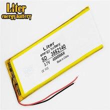 Neue 3,7 V lithium-polymer-batterie akku 3552140 pl 4000 mah tabletten