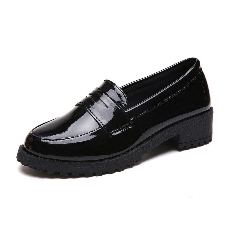 Whoholl Brand 2019 Fashion Women Shoes Pantent Leather Loafers Casual Soft Comfortable Flats Size 35-40