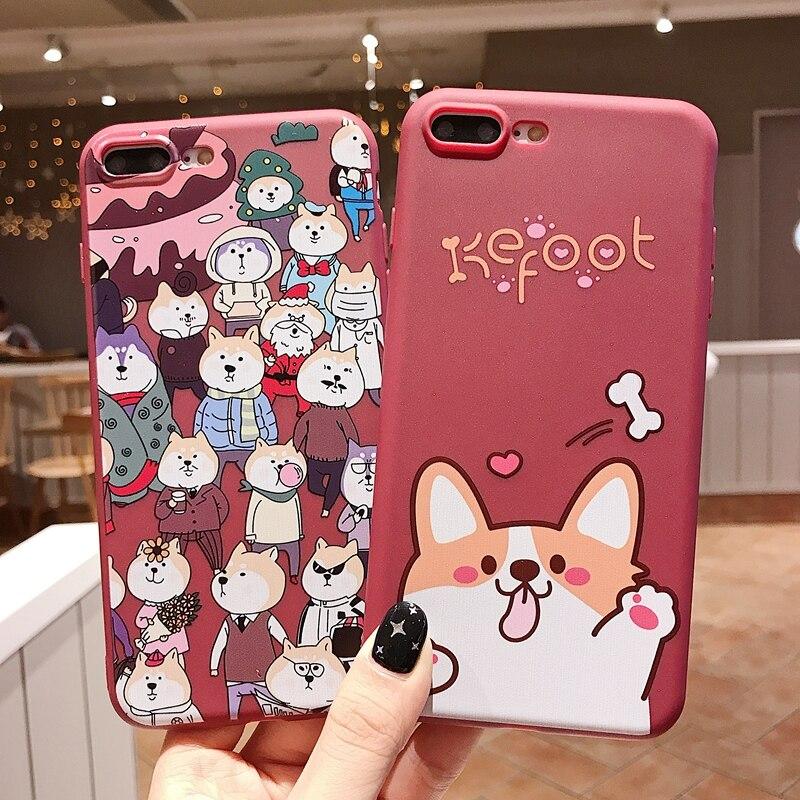 Cartoon Silicon Phone Case For Etui IPhone 7 8 Plus XS Max XR Cute Unicorn Case For IPhone X 8 7 6 6S Plus Soft TPU Cover Coque