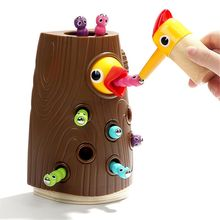 Magnetic Toddler Toy Game Set, Fine Motor Skill Preschool Toys, Pretend Play for Girl and Boy 2 Years Old, Catching and Feeding magnetic wooden fishing game toy for toddlers alphabet fish catching counting preschool board games toys for 2 3 4 year old kids