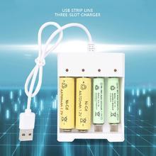 Горячая USB 2/3/4 слота Быстрая зарядка Батарея Зарядное устройство защита от короткого замыкания Защита от ААА и АА Перезаряжаемые Батарея станция высокое качество