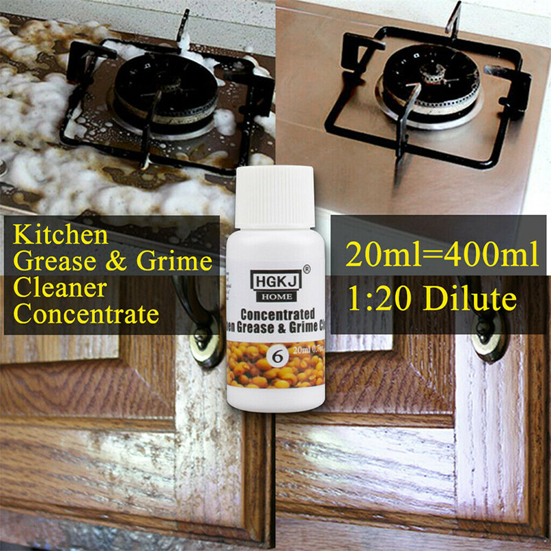Kitchen Grease Grime Cleaner Concentrate 20/50ml Cleaning Washing Multi Purpose for Home XB 66|Cooktop Cleaner| |  - title=