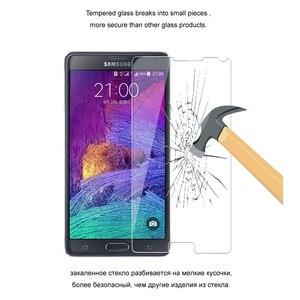 Image 3 - Premium temperli cam Samsung Galaxy not 4 koruyucu cam ekran koruyucu için Samsung not 4 cam