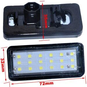 Error Free White Car LED Number License Plate Light Kit For Lexus LX470 GX470 Toyota Land Cruiser 120 Prado 120 Land Cruiser 200