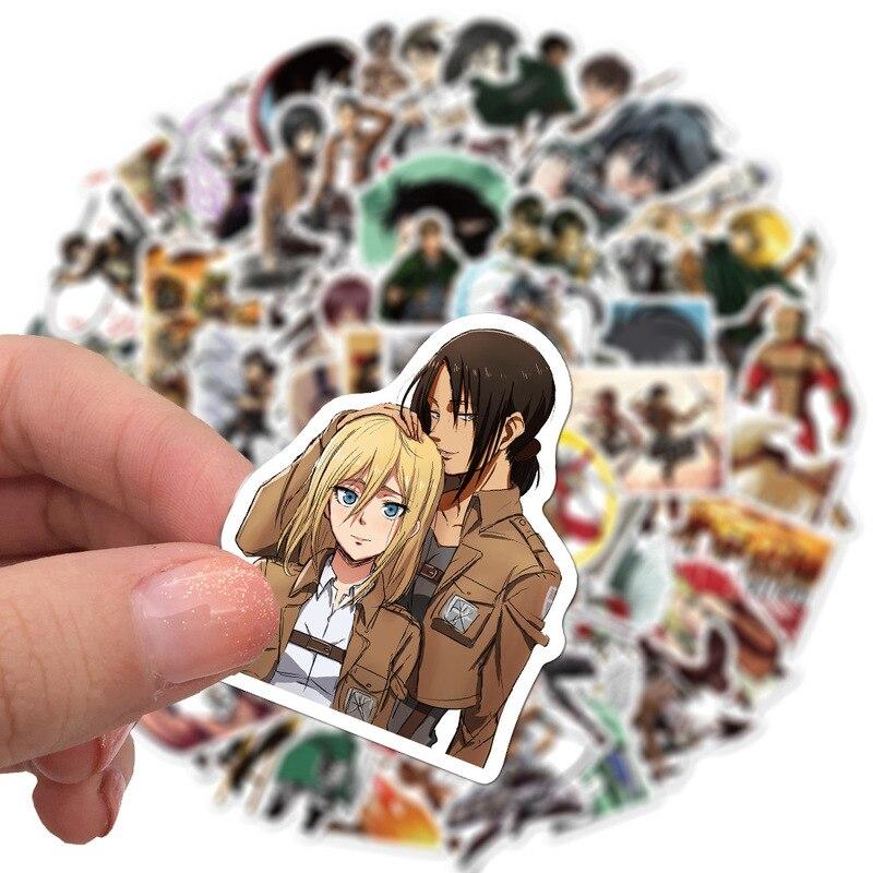 Attack on Titan Shingeki no Kyojin Stickers 10/50/100Pcs 3