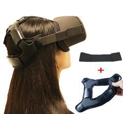 El más nuevo antideslizante de la cabeza del casco de VR que alivia la presión de la correa almohadilla de espuma para Oculus Quest VR auriculares diadema de cojín accesorios de fijación