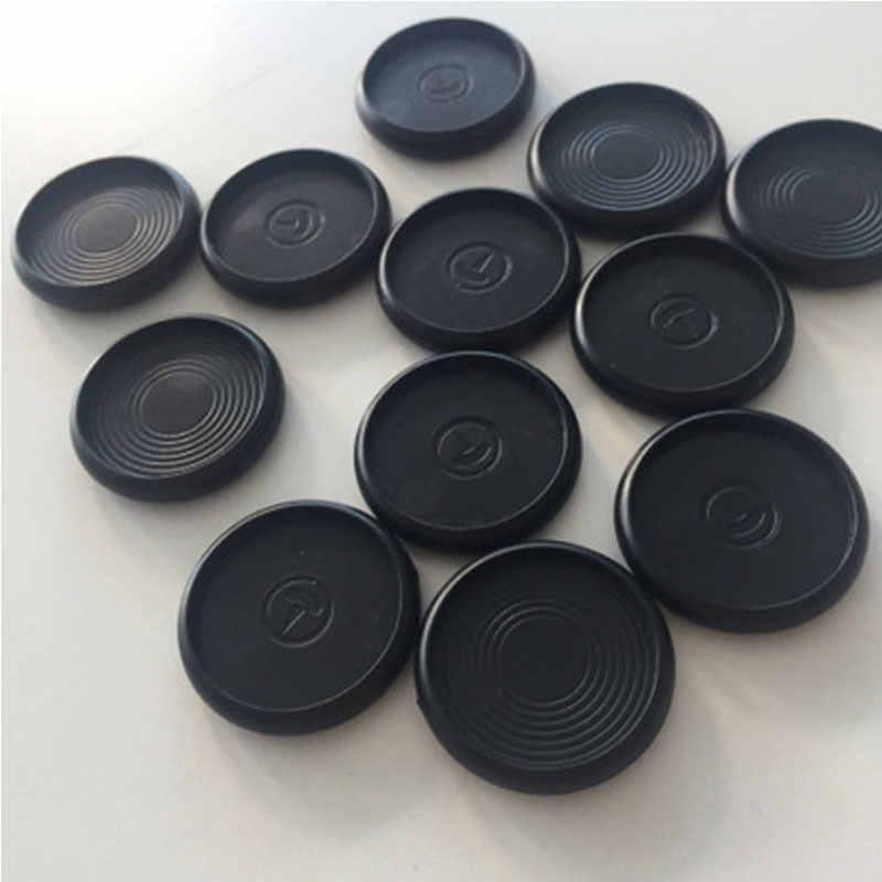 Yiwi 1000 stks/partij Notebook Paddestoel Gat Notepad Plastic losbladige 360 Graden Opvouwbare Plastic Disc Gesp Plastic Binding Ring