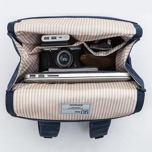 Image 4 - NINETYGO 90FUN Grinder Oxford Casual Backpack 15.6 inch Laptop Bag British Style Bagpack for Men Women School Boys Girls
